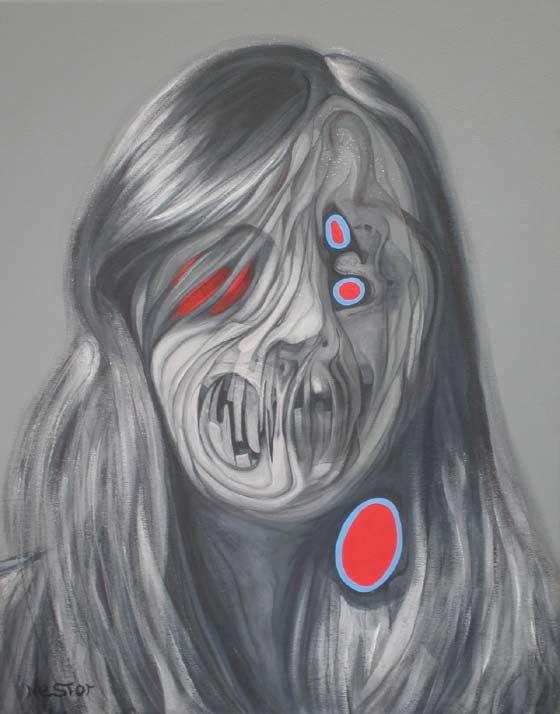 retratos derretidos