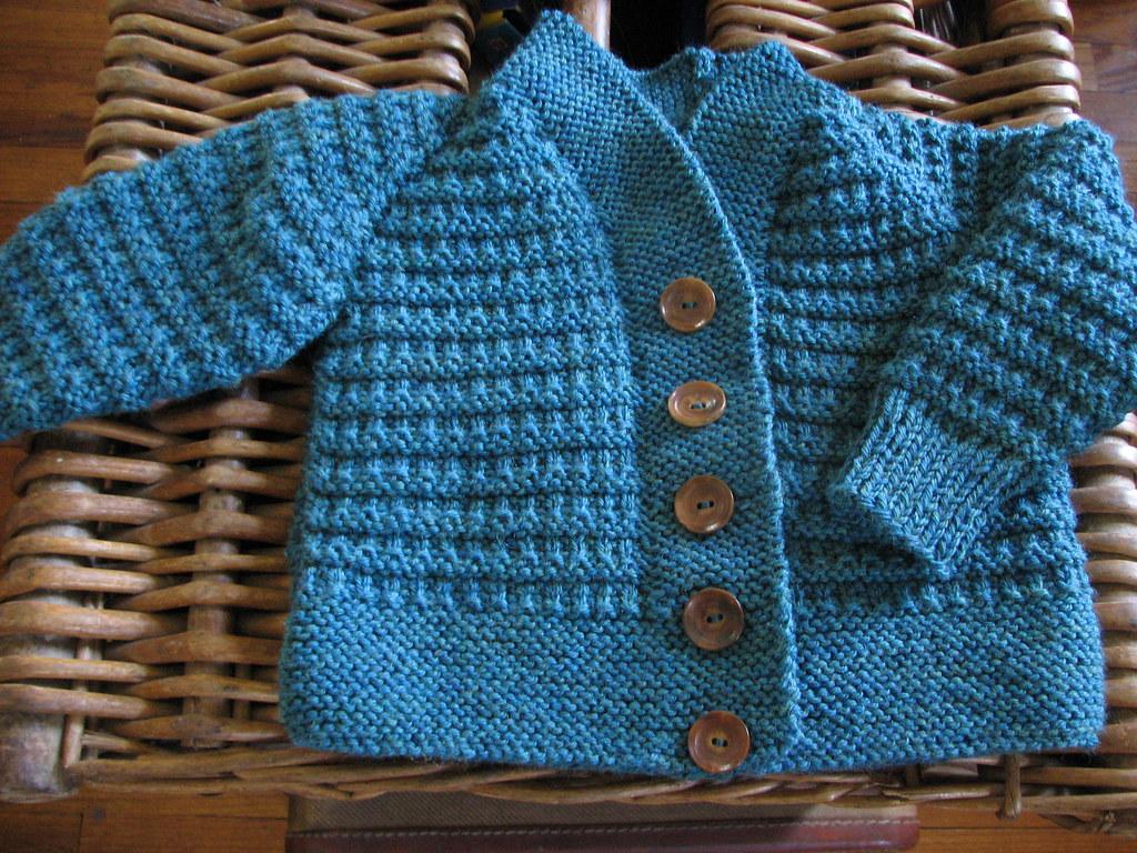 Baby Cardigan No. 1