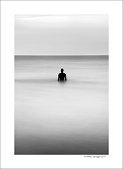 Another Place (Mike. Spriggs) Tags: sea coast estuary mersey antonygormley anotherplace crosbybeach