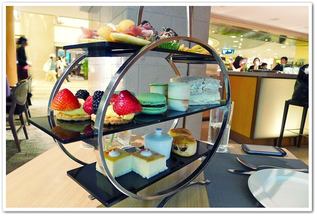 High Tea @ Bubbles Bar