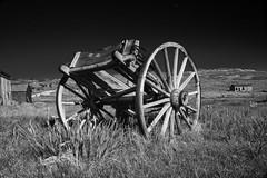 Bodie Wagon (davidlepnyc) Tags: ca sky southwest grass wagon nv yosemite sw bodie monolake sonoranpass