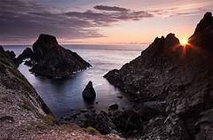 Malin head sunset 4 (hegarty_david) Tags: sunset sea motion blur water coast donegal malinhead leefilters canon40d hegartydavid davidhegarty