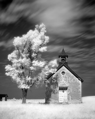 Kansas One-Room School (Bichet School) (Uncle Phooey) Tags: longexposure school abandoned rock rural point ir country hills cedar infrared kansas prairie schoolhouse flint flinthills oneroomschool bichet ruralschool oneroom countryschool bichel unclephooey cedarpointkansas bichetschool kansasoneroomschool bichelschool bichetschoolhouse kansasoneroomschoolhouse