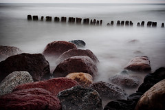 Pape | Latvia 2011 (A. Aleksandravičius) Tags: longexposure sea beach stone 35mm landscape nikon stones balticsea latvia filter nd nikkor pape cpl d90 baltijosjūra nikkor35mm nikond90 papė f18g 35mmf18g afsdxnikkor35mmf18g nikon35mm18g baltijasjūrā