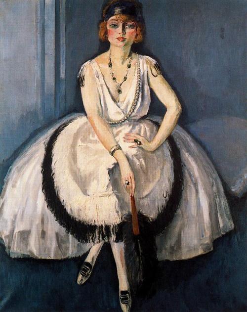 Kees van Dongen, Femme à l'éventail (1913)