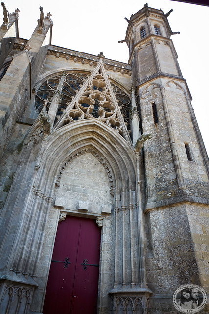 Entrance to Basilica of St. Nazaire