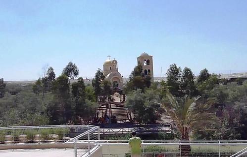 Vista desde la explanada del complejo turístico