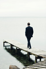 Philosopher and author Morten Albæk (Martin Dam Kristensen) Tags: bridge sea author aarhus philosopher århus vestas risskov badebro filosof aarhusbugt mortenalbæk generationfuckedup mortenalbaek