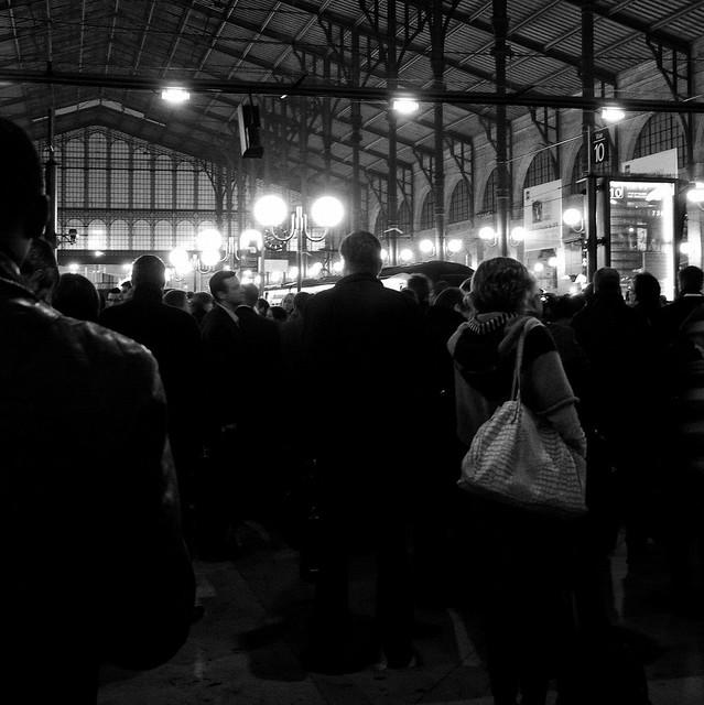 C'est la grève à la Gare du Nord
