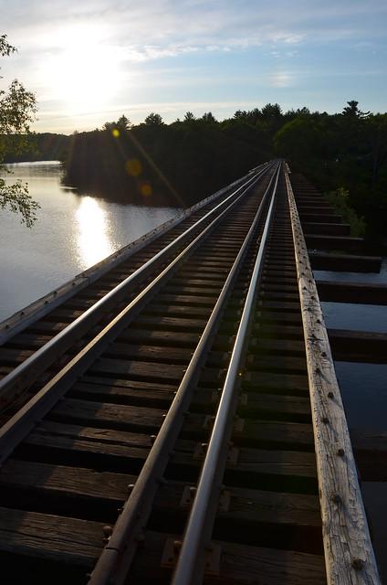 Norridgewock Railroad Bridge
