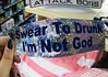 bumper sticker (kittenkush_) Tags: drunk sticker im god bumper swear