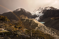 Lago Piedras Blancas - Patagonia - Argentina (tigrić) Tags: travel patagonia southamerica argentina elchalten losglaciaresnationalpark fitzroyrange parquenacionallosglaciares lagopiedrasblancas