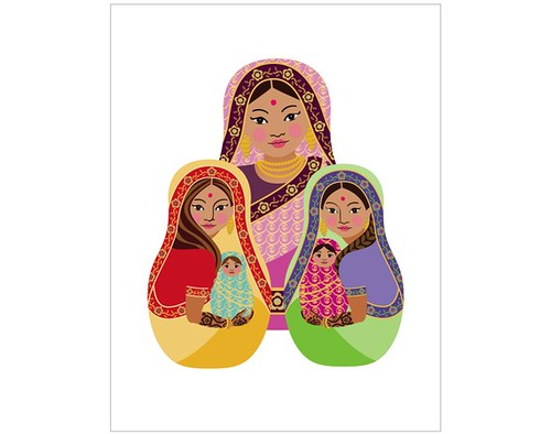 indian matryoshka