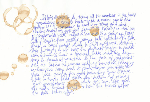 writing bones