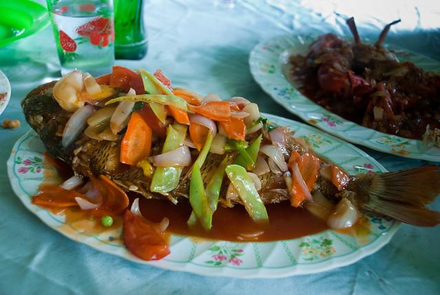 Fish in Chaung Tha, Myanmar