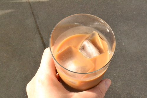 iced canned coffee