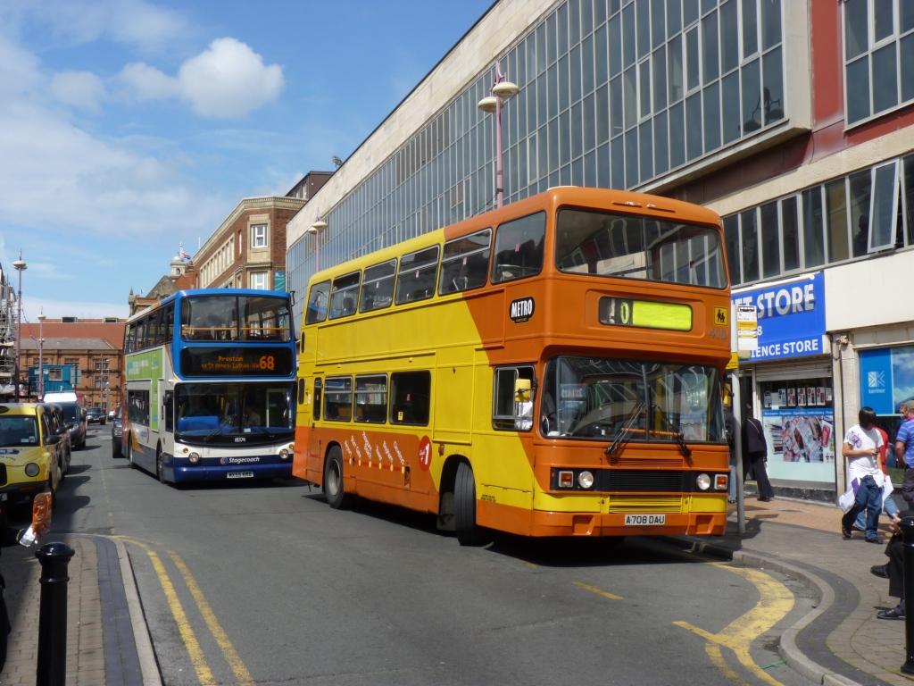 Blackpool A708DAU Market St 21Jul11c