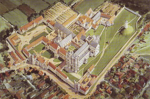 St Augustine's Abbey c.1500