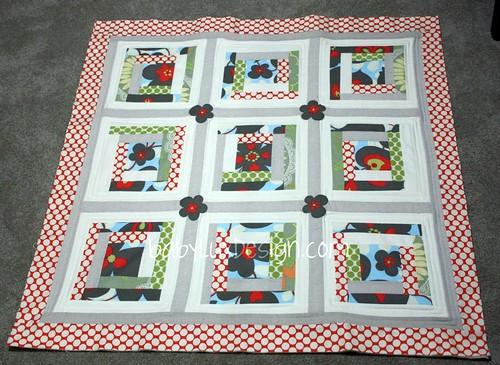 baby quilt top complete...