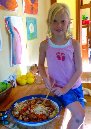 Daughter's Pasta dish