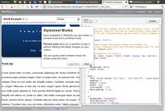 Screenshot of WebPutty Html5 Example