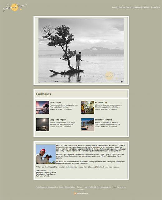 my new portfolio and prints section at photos.ferdzdecena.com