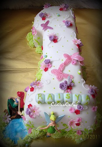 raisya adelia's 1st birthday