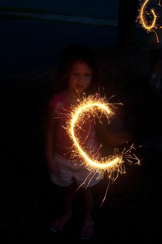 20 Audrey sparkler