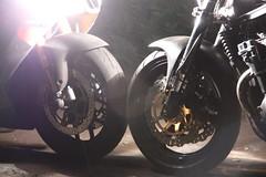 2 firebikes (Silent Partner Pdx) Tags: portland spittingfire firebikes silentpartnerpdx