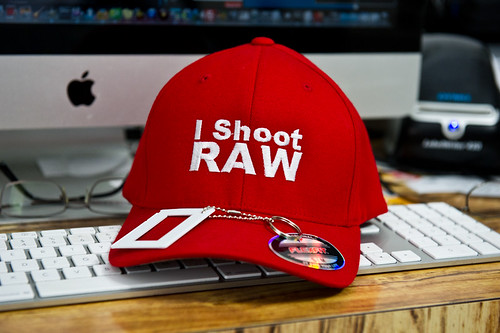 I Shoot RAW Red Hat