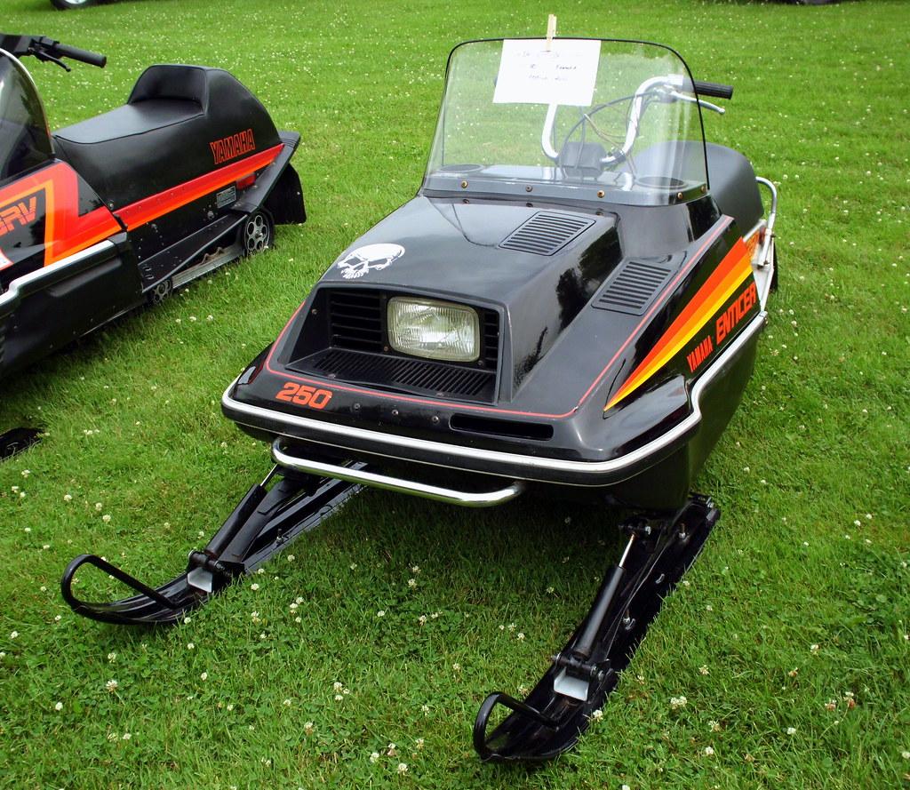 Old Kawasaki Snowmobiles