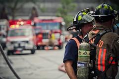 Toronto Fire 4th Alarm 23 Brunswick Avenue (HANGAR ENT.) Tags: rescue toronto ontario canada alarm truck fire town smoke flames 4 911 4th down brunswick aerial rig 23 ladder emergency avenue department pumper fighrer