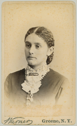 Portrait Woman with collar