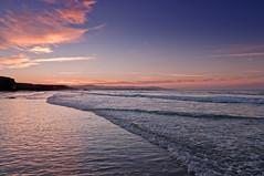 Las Catedrales (antes debeo777) Tags: espaa luz atardecer mar nikon colores galicia cielo nubes 1750 tamron olas azules ribadeo rojos lascatedrales d300s debeo777