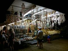Sponge Vendor (Toni Kaarttinen) Tags: shop night dark island greek boat twilight ship darkness greece grecia vendor sponge griechenland rodos rhodes grce seller rodi rodes rhodos grcia rodas dodecanese ellda  hells rdos