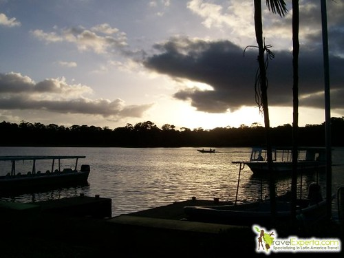 Sunset in Tortuguero