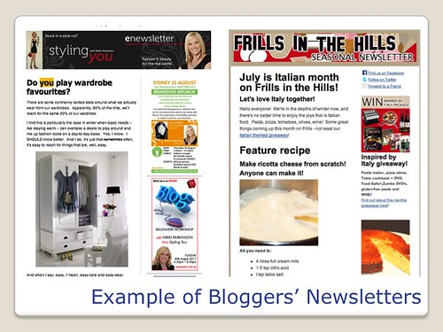 Blogging Tools - Blogger Newsletters
