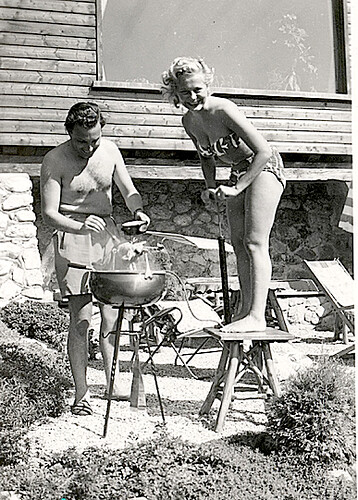 1960s BBQ