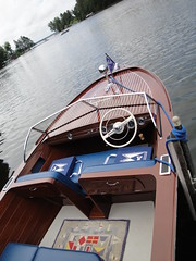 56 Chris Craft 18' Sportsman (DVS1mn) Tags: wood lake classic minnesota boats boat cross antique lakes chain 1956 fiberglass whitefish six crosslake mn 56 nineteen outboard fifty inboard nineteenfiftysix