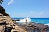 OahuHawaii-0032 (chucksmithphoto) Tags: ocean usa man hawaii coast rocks waves oahu shore chuck honolulu portlock hanapepeloop