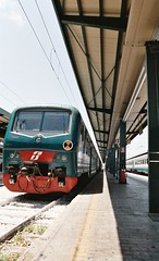A proposito di treni 1 / About trains 1 (urnama) Tags: film analog trains stazione pentaxz10 treni pellicola