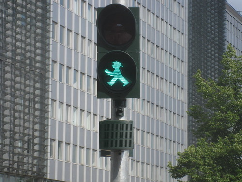 Ampelmännchen, Berlin's Green Man