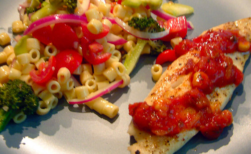 Pasta Salad & Fish by Pastarella Maker
