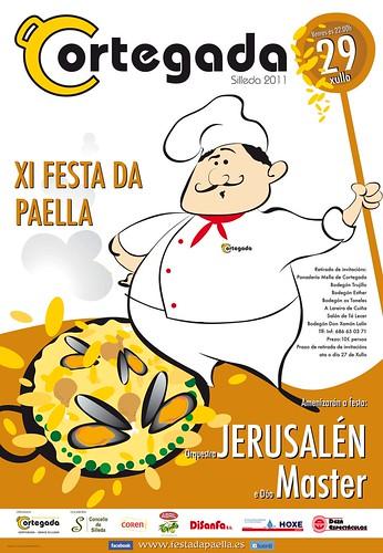 Silleda 2011 - Festa da Paella de Cortegada - cartel