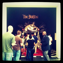 Saturday: Tim Burton exhibit