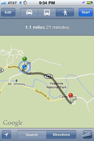 Since when is Mt. Whitney in Yosemite?