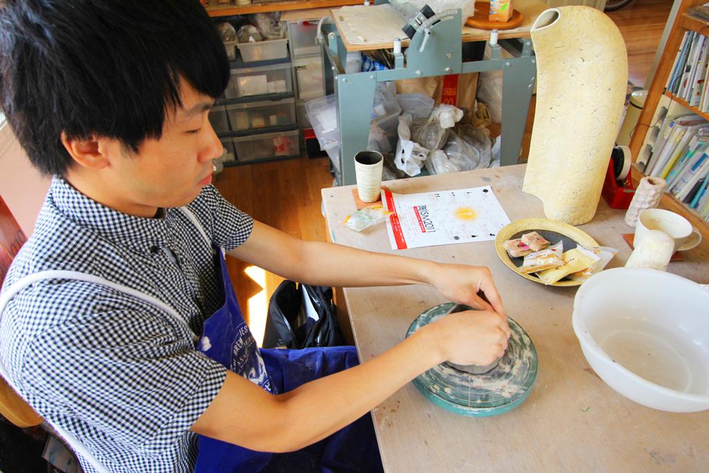 Pottery Artist Junko Yamamoto data collection (2)