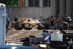 Dark Knight Rises (Rachel Annie) Tags: pittsburgh batman batmobile darkknight brucewayne christianbale tumbler gothamcity batman3 tdkr darkknightrises