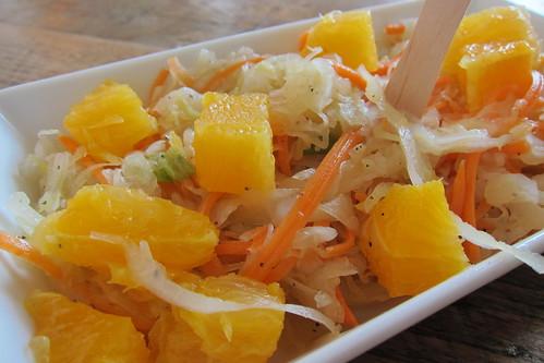 Berlin Currywurst: Sauerkraut Salad