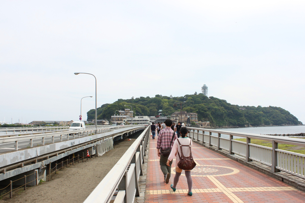 A walking guide of Enoshima (2)